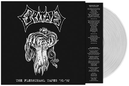 EPITAPH: The Fleshcrawl Tapes '91/'92 + Dark Abbey Blasphemy CD - Click Image to Close